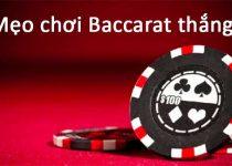 mẹo chơi baccarat thắng